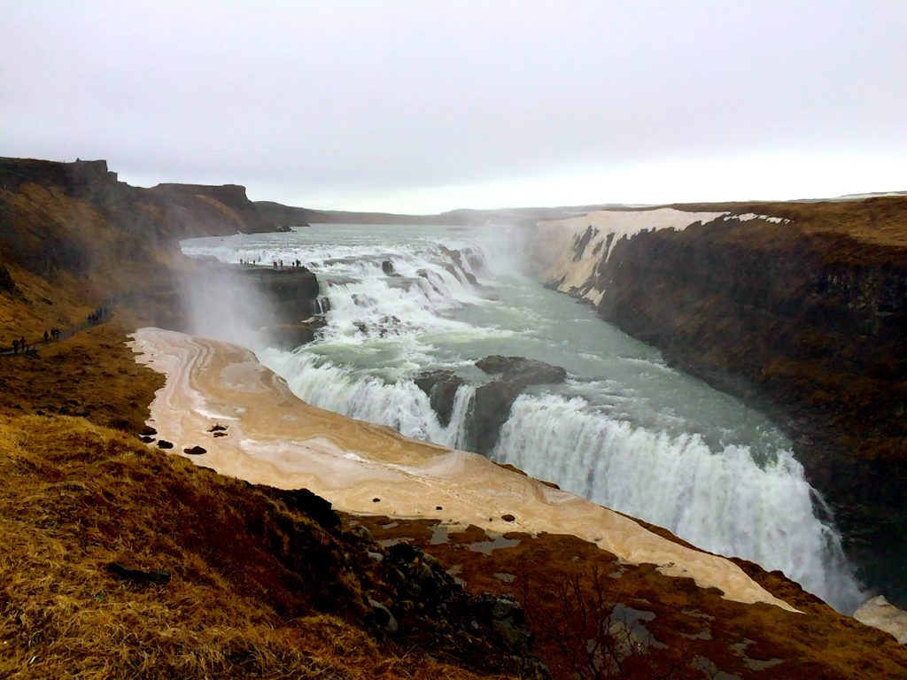 gulfoss waterfall2